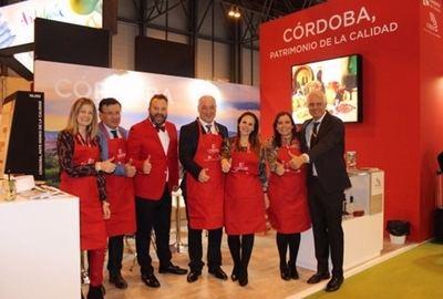 La Diputación presenta la marca 'Córdoba, Patrimonio de la Calidad' en el 33 Salón Gourmets que se celebra en Madrid