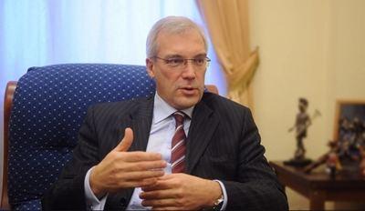 El Viceministro de Asuntos Exteriores de Rusia, Alexandr Grushkó.