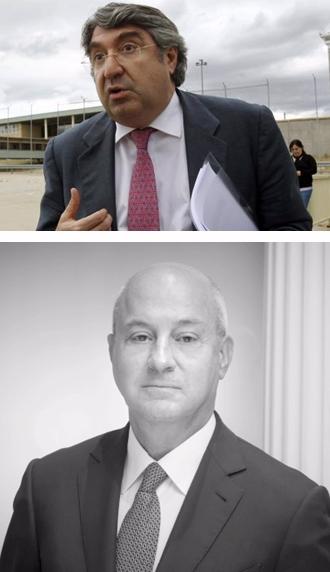 En la foto superior, el abogado Carlos Aguilar; debajo, Ignacio Ayala.