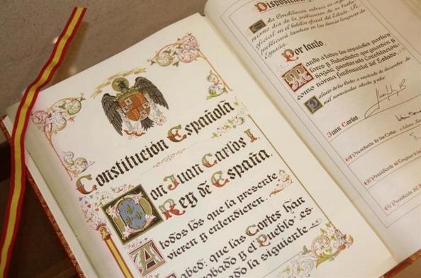 Es mentira que la soberanía nacional resida en el pueblo español