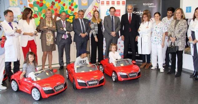El Corte Inglés Empresas incorpora coches eléctricos infantiles en los hospitales de Madrid