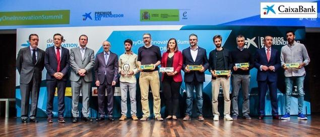 Ganadores de los Premios EmprendedorXXI.