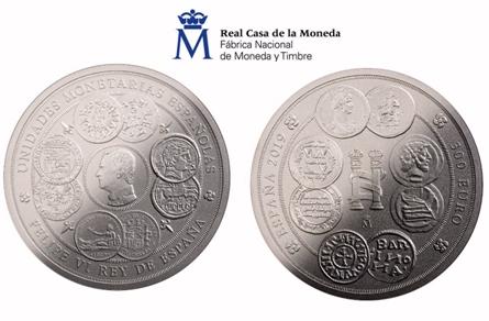 La Real Casa de la Moneda lanza una moneda de un kilo de plata