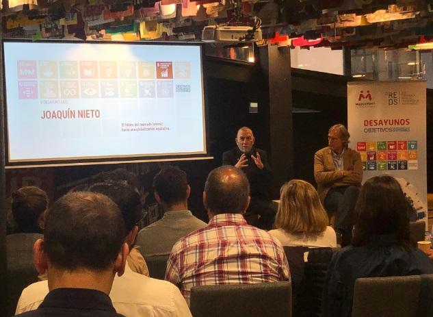 """Joaquín Nieto: """"Vivimos en un contexto de cambio global que afectará al trabajo y que necesita ser gobernado con justicia'"""