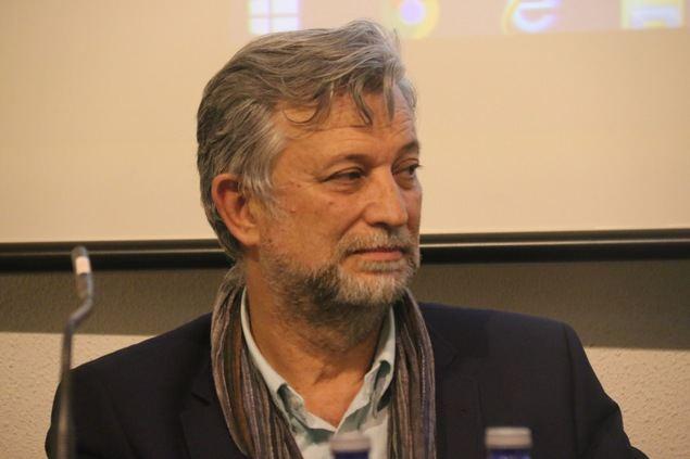El escritor Juan Llopis.
