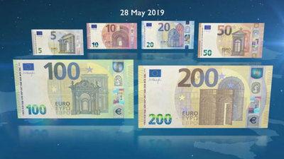 El 28 de mayo entran en vigor los nuevos billetes de 100 y 200 euros
