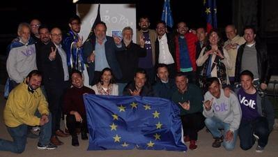 Volt dio el pistoletazo de salida de la campaña electoral europea para conseguir formar un grupo parlamentario netamente europeísta