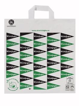 El Corte Inglés logra certificar el 100% de sus bolsas de plástico como sostenibles y reutilizables