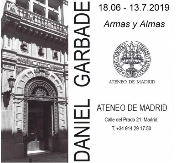 """""""Armas y Almas"""", la más reciente exposición de Daniel Garbade en el Ateneo de Madrid"""