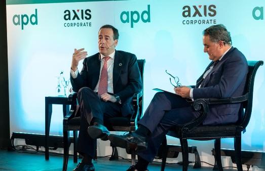 """Gonzalo Gortázar : """"Es importante para la economía española que el sistema financiero supere con éxito sus retos"""""""