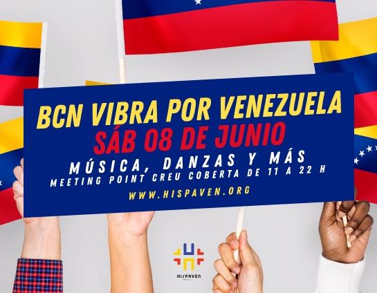 Barcelona vibra por Venezuela