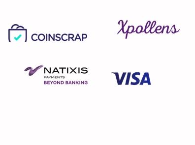 Coinscrap firma alianza con Natixis Payments y VISA para el lanzamiento de una innovadora tarjeta al mercado español