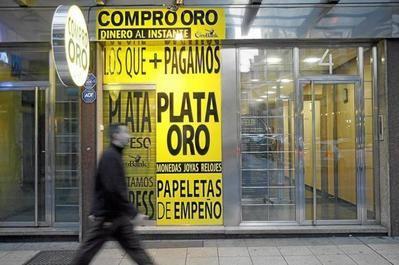 Varapalo fiscal de la UE a las empresas de «Compro Oro»