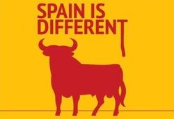 Spain is very different