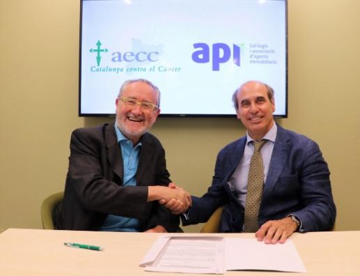 La AIC y la AECC Catalunya contra el Cáncer firman un acuerdo de colaboración
