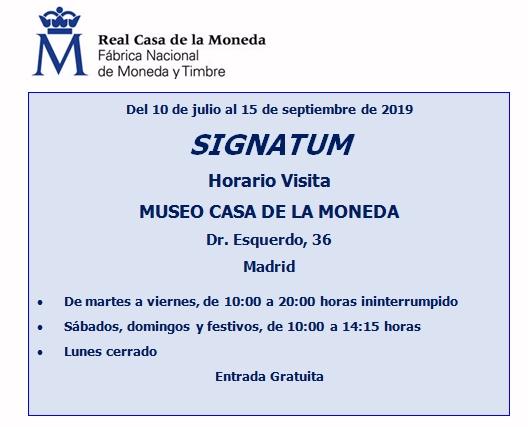 La Real Casa de la Moneda-FNMT presenta la exposición Signatum de moneda fundida itálica