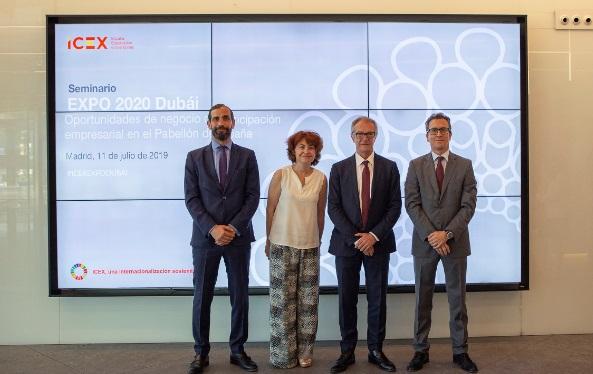 El Gobierno de España fomenta la presencia de empresas españolas en Expo Dubái 2020