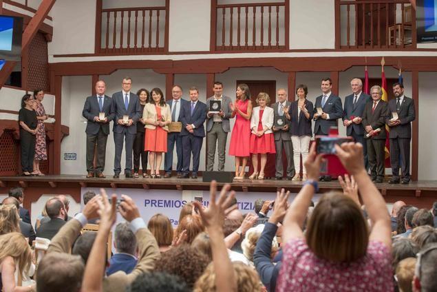 S.M. la Reina entrega los premios 'Reina Letizia 2018' que reconocen el trabajo en favor de la inclusión de la discapacidad