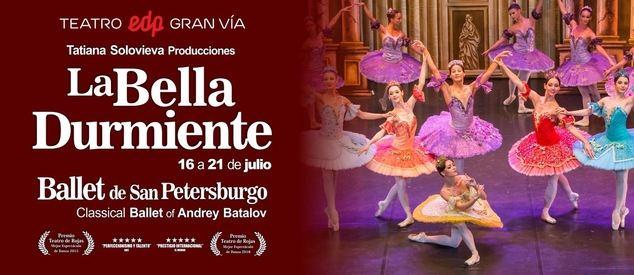 """El Ballet de San Petersburgo vuelve a Madrid con dos clásicos: """"El Lago de los Cisnes"""" y """"la Bella Durmiente"""""""