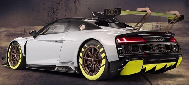 Nuevo Audi R8 LMS GT2, un coche de carreras para moverse por Madrid Central