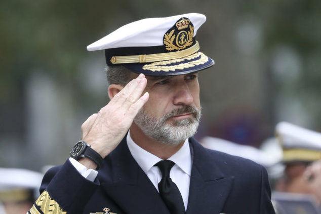 Su Majestad el Rey Felipe VI.