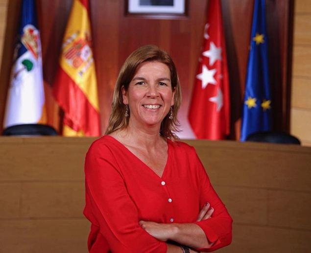 Elena Garachana, concejal de Vox en el Ayuntamiento de Las Rozas de Madrid.