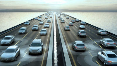 China prueba su primera autopista conectada inteligente