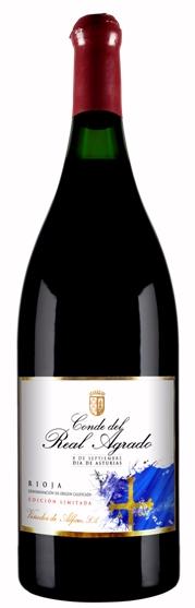 Conde del Real Agrado, el vino de Rioja que celebra el Día de Asturias