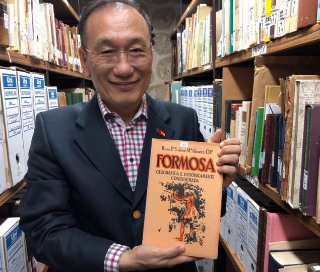 El Embajador José María Der-li Liu, Representante de la Oficina Económica y Cultural de Taipei en España.