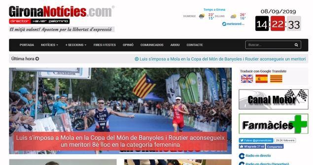 El portal GironaNotícies celebra 14 años en plena consolidación
