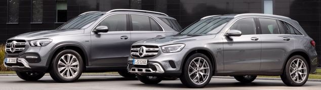 Mercedes-Benz GLE 350 de 4MATIC y GLC 300 e 4MATIC son la tercera generación de híbridos enchufables