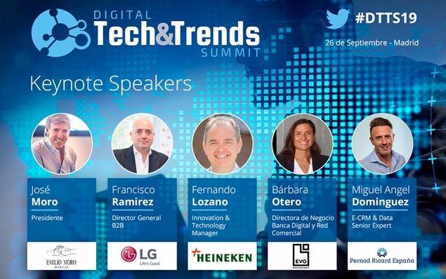 Madrid acogerá Digital Tech&Trends Summit, la cita del entorno directivo sobre innovación empresarial