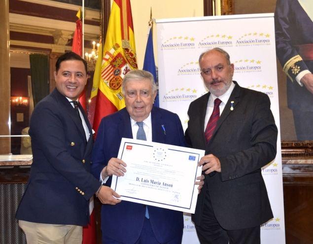 AEDEEC otorga el Premio Europeo a la Gestión e Innovación Empresarial y el Premio Europeo a la Calidad Empresarial