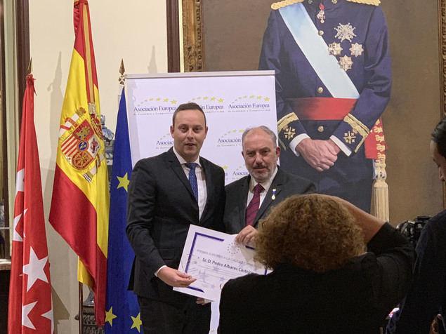 El abogado Pedro Albares Castejón, director de Albares Abogados Manises y Valencia, Premio Europeo a la Calidad empresarial