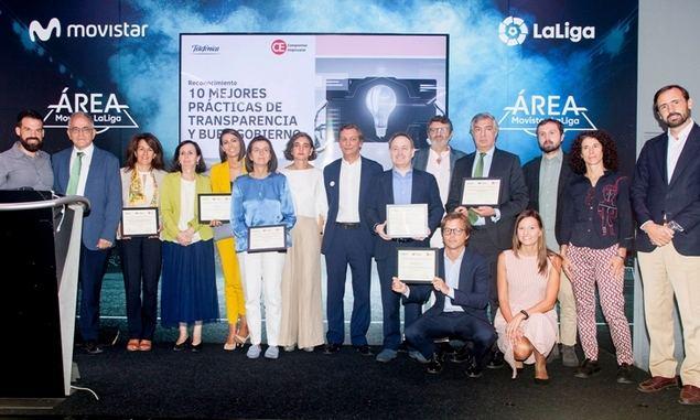 Telefónica y Compromiso Empresarial reconocen las diez mejores prácticas de transparencia y buen gobierno de 2018