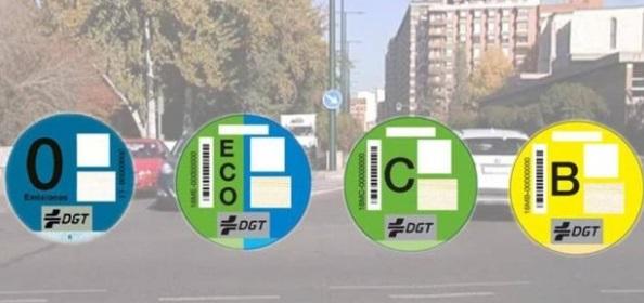 El 31,7% de los coches en España no tiene distintivo medioambiental