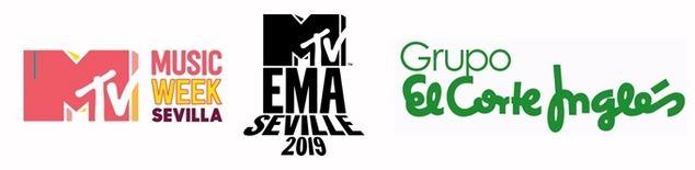 Acciones especiales de El Corte Inglés para recibir los MTV EMAs Sevilla 2019