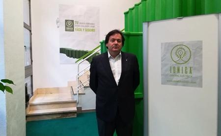 Alberto Santana, consejero delegado de Central Eléctrica Iónica.
