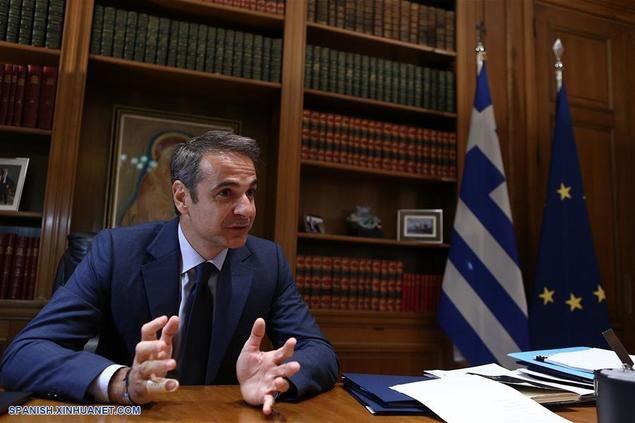 El primer ministro griego, Kyriakos Mitsotakis.