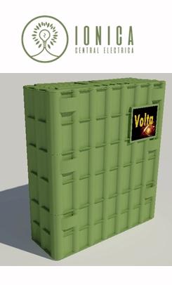 Iónica lanza la serie industrial con la marca Volta en España