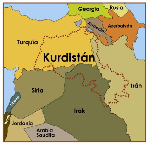 Los kurdos: un pueblo sin Estado