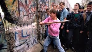 La caída del muro de Berlín, ese día, sí, yo estaba allí