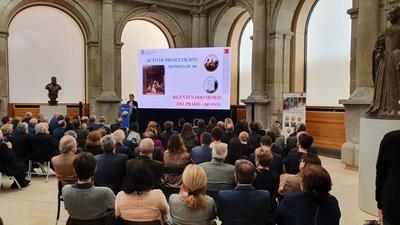 La Fábrica Nacional de Moneda y Timbre-Real Casa de la Moneda presenta la moneda conmemorativa del Bicentenario del Museo del Prado