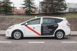 Uber integra al taxi de Madrid en su aplicación