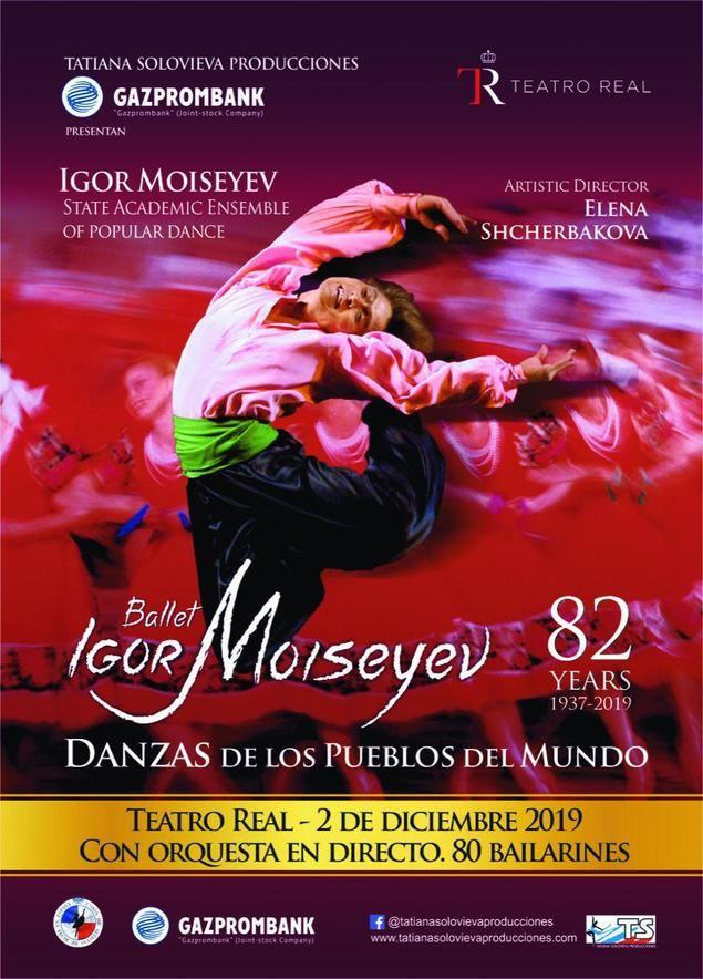 El Ballet de Igor Moiseyev regresa a España