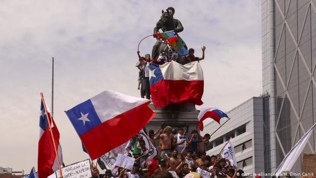 Las turbulencias políticas ensombrecen el futuro de la economía chilena