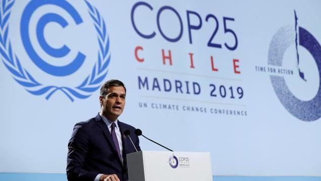 Arranca en Madrid la Cumbre del Clima con la inexplicable ausencia de Su Majestad el Rey