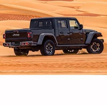 Jeep renueva el Gladiator que se presentara en Oriente Medio con 300 exclusivas unidades