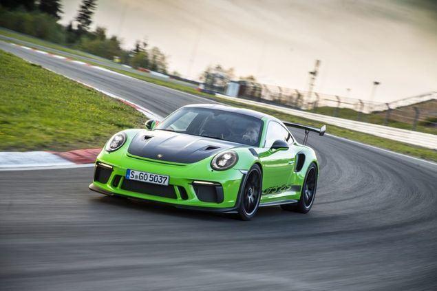 Ultimo Porsche 911 de la generación 991