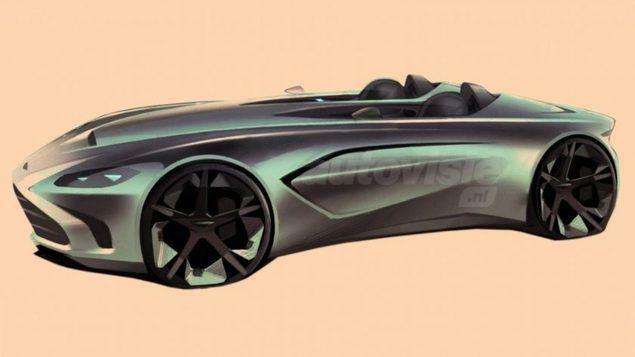 Nueva edición limitada del V12 Speedster de Aston Martin